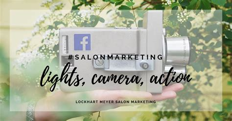 lights camera action salon improve your salon facebook with a quick spring clean