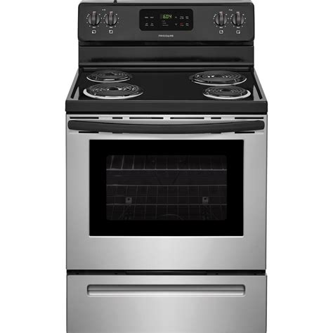 oven range frigidaire 30 in 5 3 cu ft single oven electric range