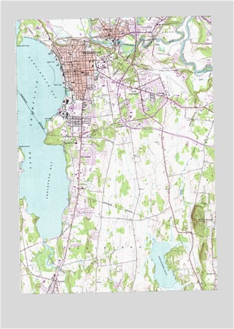 burlington vt map burlington vt topographic map topoquest