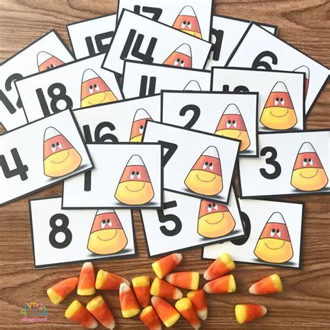 Corn Counting Printable