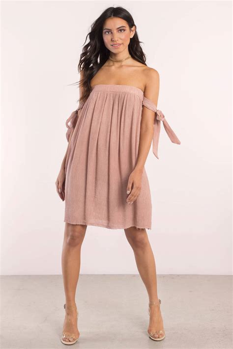 Day Dress mauve day dress shoulder dress 74 00