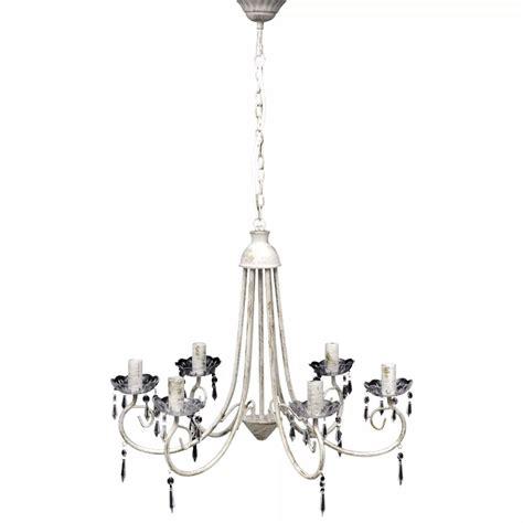 Pendant Ceiling L Elegant Chandelier White 6 Bulb White Pendant Chandelier