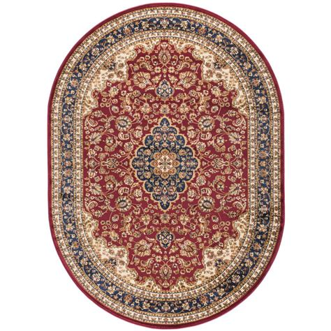 7 x 9 oval area rugs tayse rugs sensation 6 ft 7 in x 9 ft 6 in oval traditional area rug 4780 7x10 oval