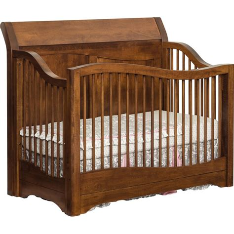 Amish Cribs by Tanessah Crib Amish Crafted Furniture