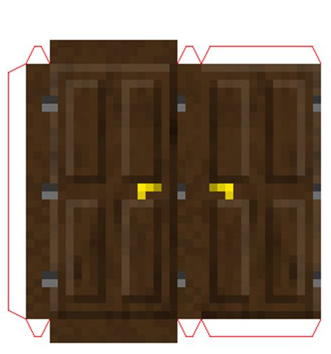 Minecraft Papercraft Door - papercraft oak door mini coming soon 1 8