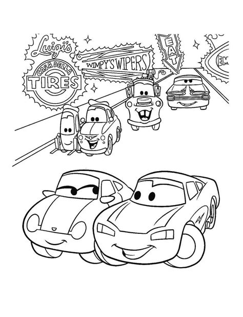 christmas coloring pages cars cars christmas coloring pages