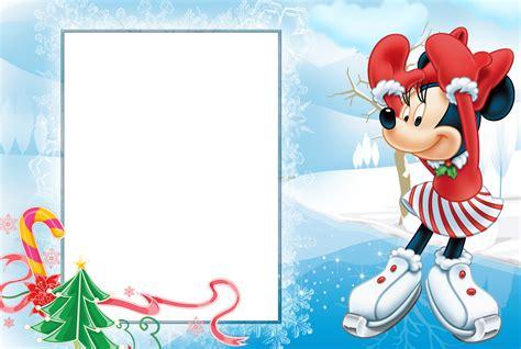 imagenes feliz navidad disney marcos gratis para fotos disney navidad png