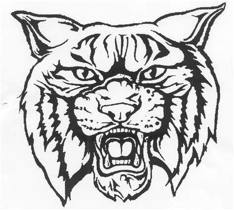 wildcat face cliparts   clip art