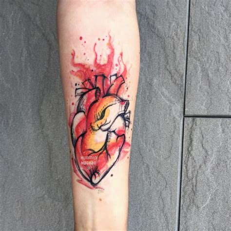 watercolor tattoos fire 1000 ideas about watercolor tattoos on