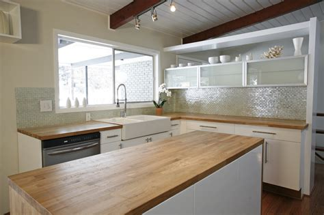 mid century modern kitchens before after a dramatic mid century modern renovation