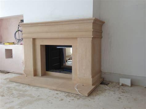Asymmetrical Fireplace by An Asymmetrical Fireplace Around A Stuv Stove