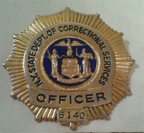 Nys Parole Officer by Badges On