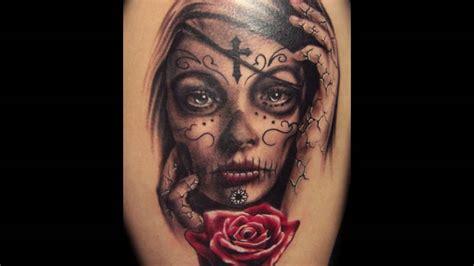 imagenes tatuajes catrinas tatuajes de catrinas youtube