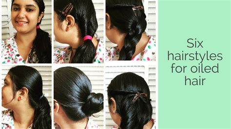 oily hair hairstyles youtube how to style oiled hair 6 hair styles for oily and greasy