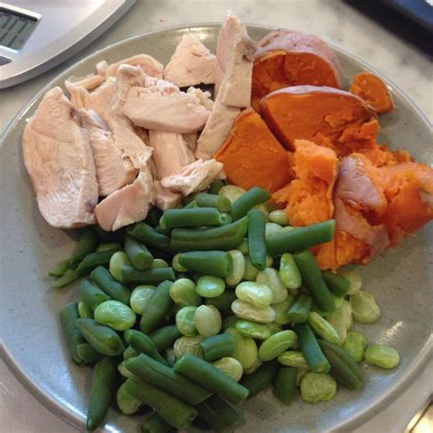 protein 6 oz chicken breast 12 weeks out my contest meal plan honey we re