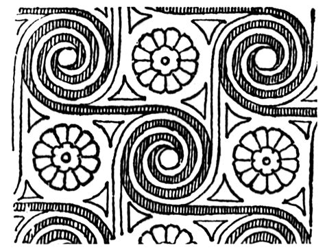 spiral pattern of history spiral all over pattern clipart etc