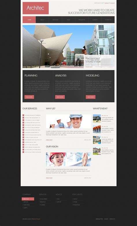 drupal themes live demo architecture drupal template 39725