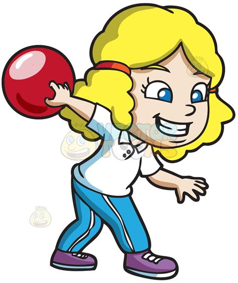 clipart bowling a enjoying the of bowling clipart