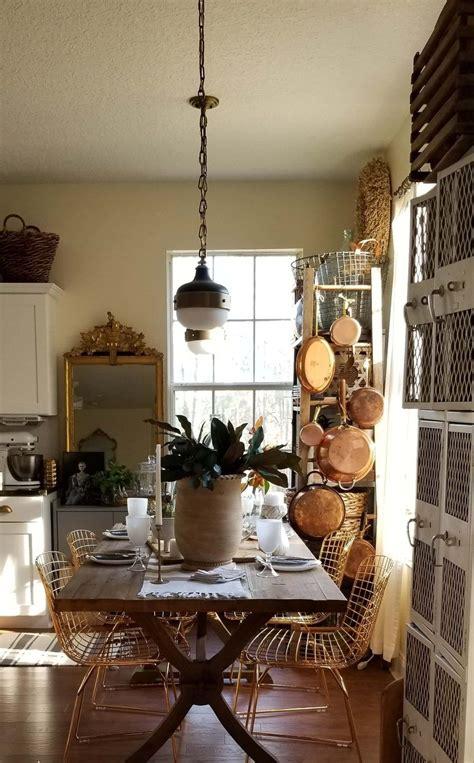 spring   dining room rustic european modern charm