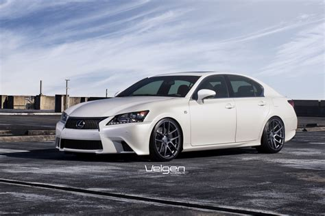 lexus gs350 f sport lowered lexus gs350 f sport velgen wheels vmb5 clublexus