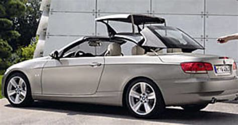 Bmw Serie 1 Cabrio Hardtop by Bmw 3 Series Convertible Hardtop Arrives Car News