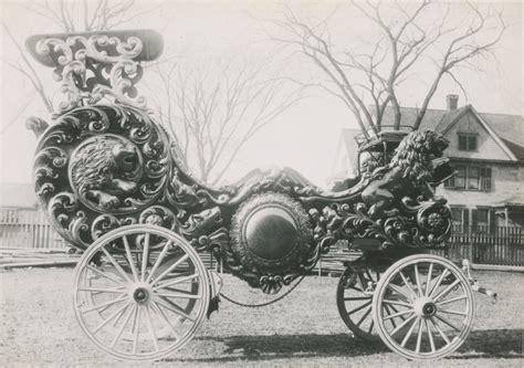 chariot wagen adam forepaugh band chariot circus wagons