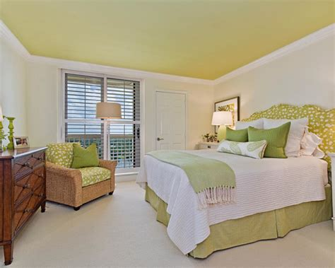 navy blue lime green accents bedroom design ideas