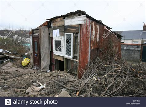 The Shanty a shanty town style dwelling in llanelli wales the shed