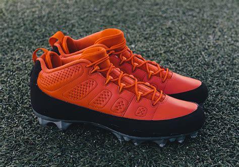 jordans football shoes air 9 football cleats sneaker bar detroit