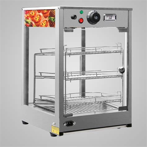 Heated Food Display Warmer Cabinet by Heated Pizza Display Cabinet Food Warmer Countertop Glass