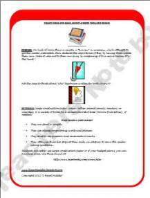 Book Report Projects For 8th Grade by Creative Book Report Ideas And Lessons 6th 8th Grade