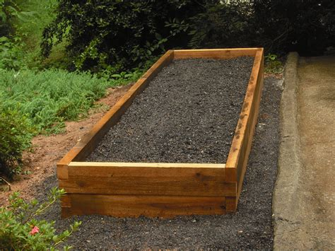Diy Soil Mix For Recycle Wood Raised Bed Vegetable Garden Raised Bed Vegetable Garden Soil