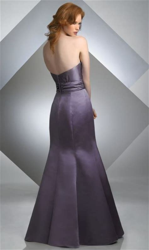 Sale Bj 3690 Gray Dress bari satin mermaid bridesmaid dress 207