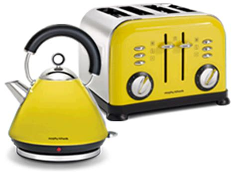 Yellow Kettle And Toaster Sets Morphy Richards Kettle And Toaster Colour Boutique Currys
