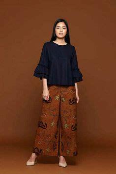 Kulot Batik Hap 1 model kebaya modern terbaru rok batik panjang nyonya peranakan indonesia kebaya