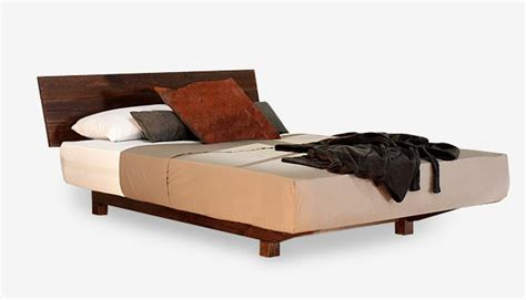 European Floating Timber Bed Frame Contemporary Beds Sydney Bed Frame