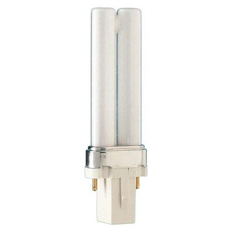 Lu Philips 23 Watt philips 5 watt soft white 2700k 2 pin g23 cflni light bulb 146712 the home depot