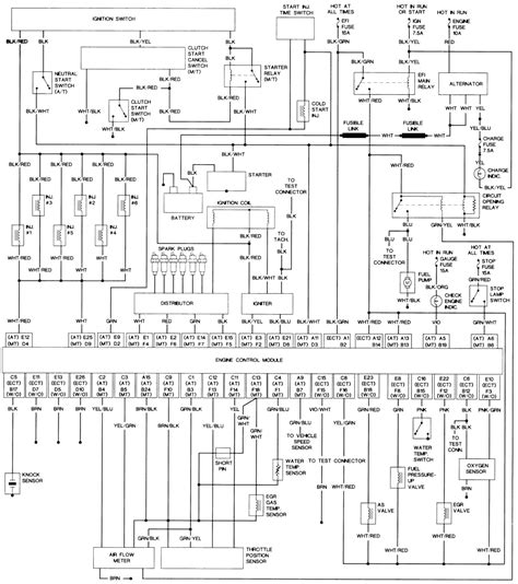 95 toyota t100 3 4 engine diagram 95 get free image