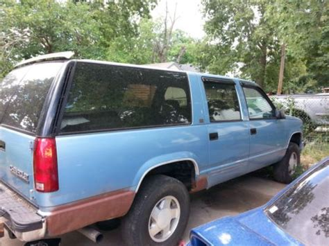 1993 chevrolet suburban 1500 5 7l engine motor 19964240 buy used 1993 chevrolet k1500 suburban silverado sport utility 4 door 5 7l in mission kansas