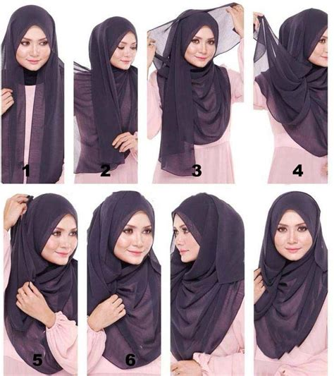 tutorial hijab pashmina simple casual hijab tutorial in the casual style how to hijab