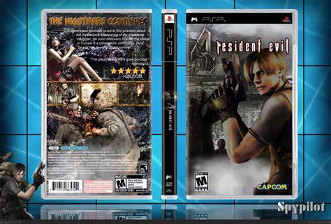 theme psp resident evil 4 resident evil 4 psp box art cover by spypilot