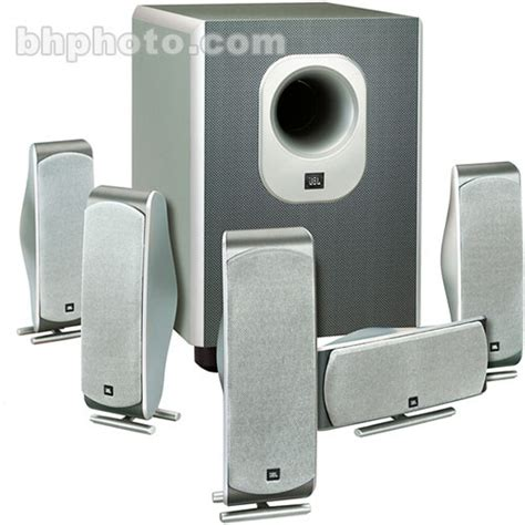 jbl scs  complete  piece home theater speaker
