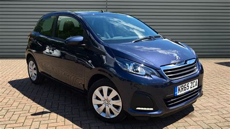 used peugeot 108 automatic used peugeot 108 hatchback 1 0 active 2 tronic 5dr 2015