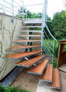 re de terrasse et escalier ext 233 rieur metal concept escalier ferronnerie d alsace