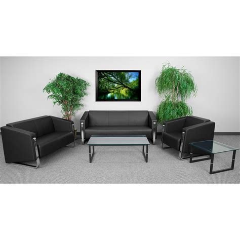 Living Room Furniture Monthly Payments Hercules Gallant Series Living Room Set In Black With Free