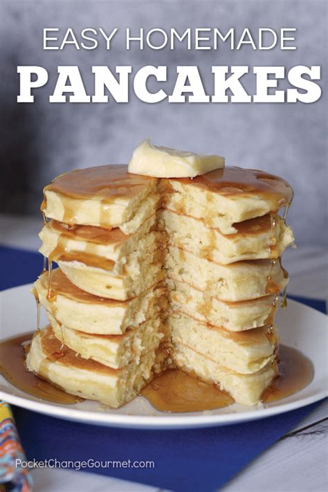 the best pancake recipe easy pancake recipe recipe pocket change gourmet