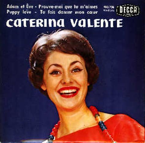 caterina valente the things i love caterina valente