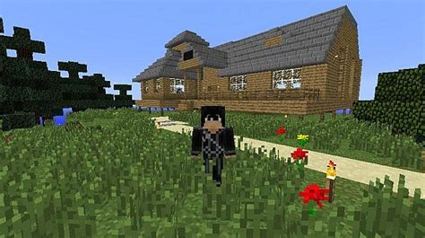 online house tree house in sword art online minecraft project