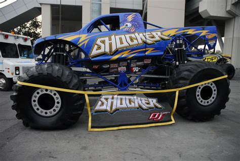 how many monster trucks are there in monster jam the shocker monster truck makes a shocking appearance at