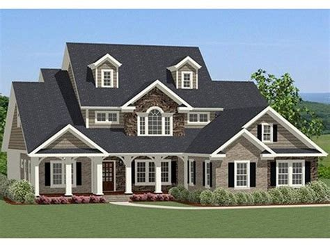traditional house plans with porches traditional home plan with 2880 square feet and 4 bedrooms from dream home source house plan